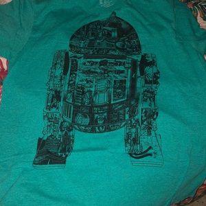R2-D2 tee shirt